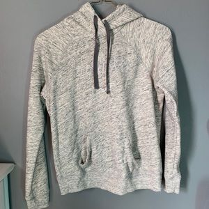 New grey and light grey pattern on a hoodie